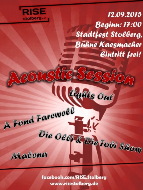 Acoustic Session Plakat
